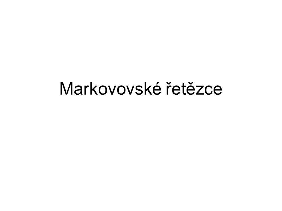 Markovovské řetězce