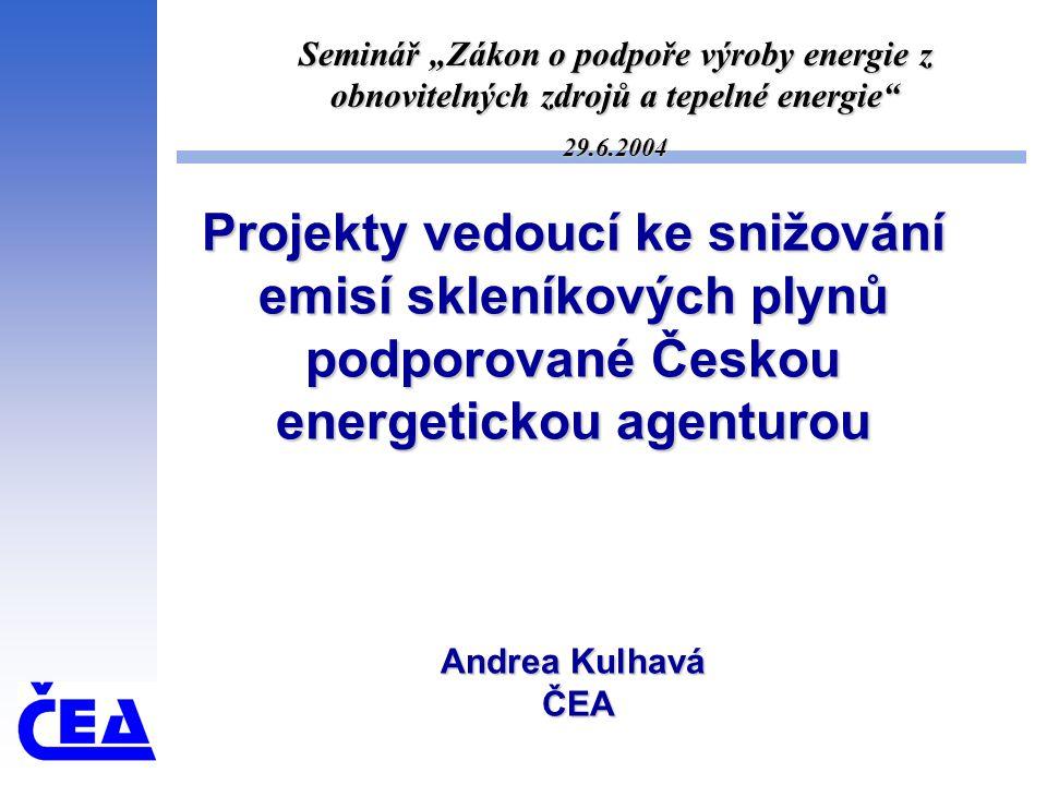 Státní program na podporu úspor energie a využívání obnovitelných zdrojů energie III.