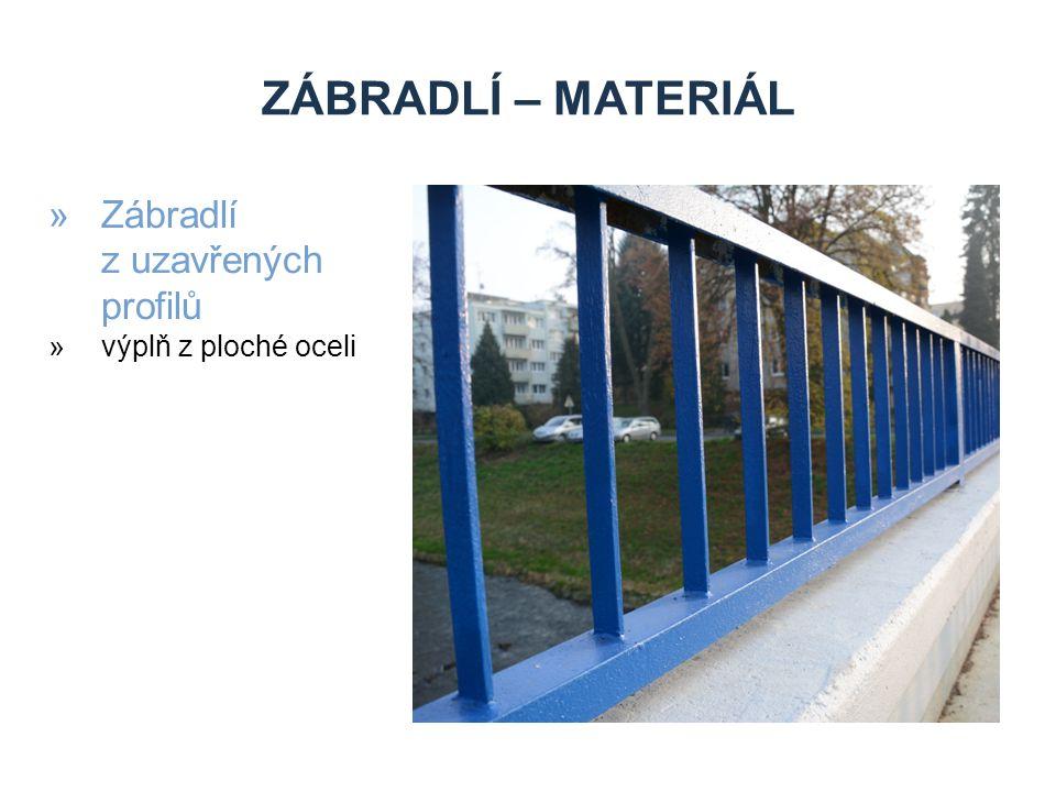 ZÁBRADLÍ – MATERIÁL »Zábradlí z uzavřených profilů »výplň z ploché oceli