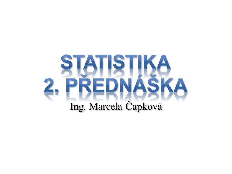 Základní statistické pojmy Popisná statistika (deskriptivní) – Zabývá se sběrem údajů o všech prvcích nějaké přesně vymezené skupiny (například o všech obyvatelích jistého regionu) a jejich zpracování.