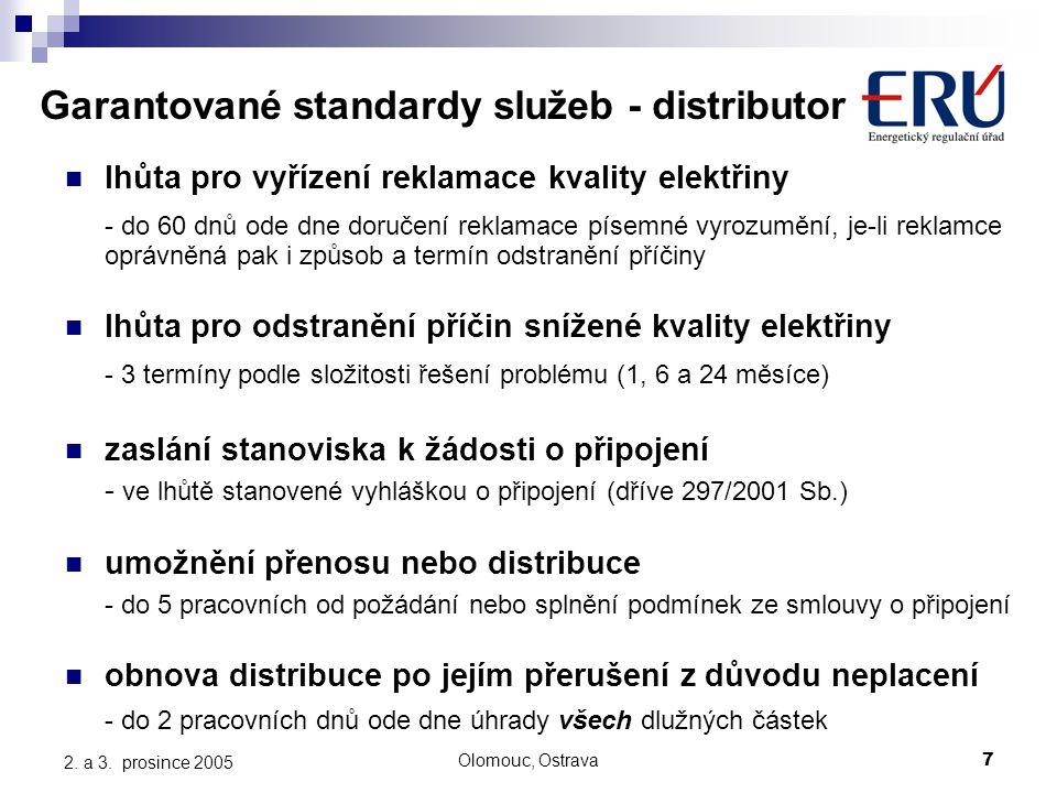 Olomouc, Ostrava7 2. a 3.