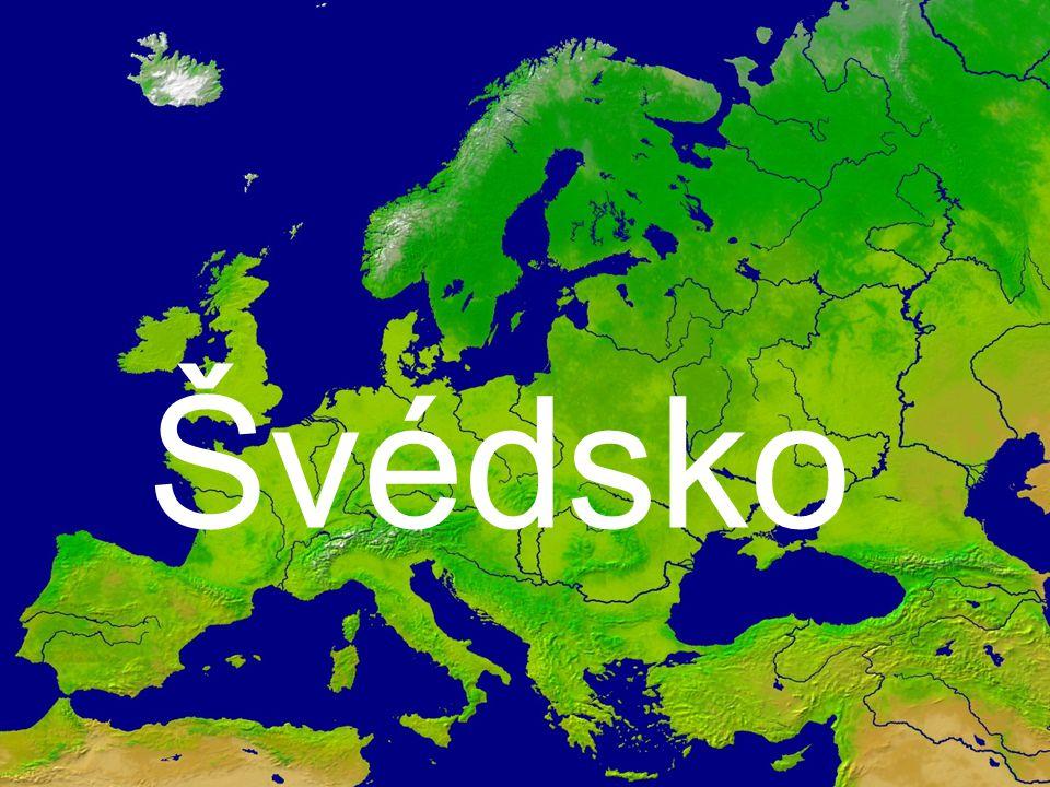 Konungariket Sverige Švédské království hl.město: Stockholm rozloha: 449 964 km2 počet obyv.: 9 016 596 měna: 1SEK=100öre úř.jazyk: švédština státní zřízení: konstituční monarchie čas: stejný jako u nás (GMT +1) náboženství: evangelistické luteránské