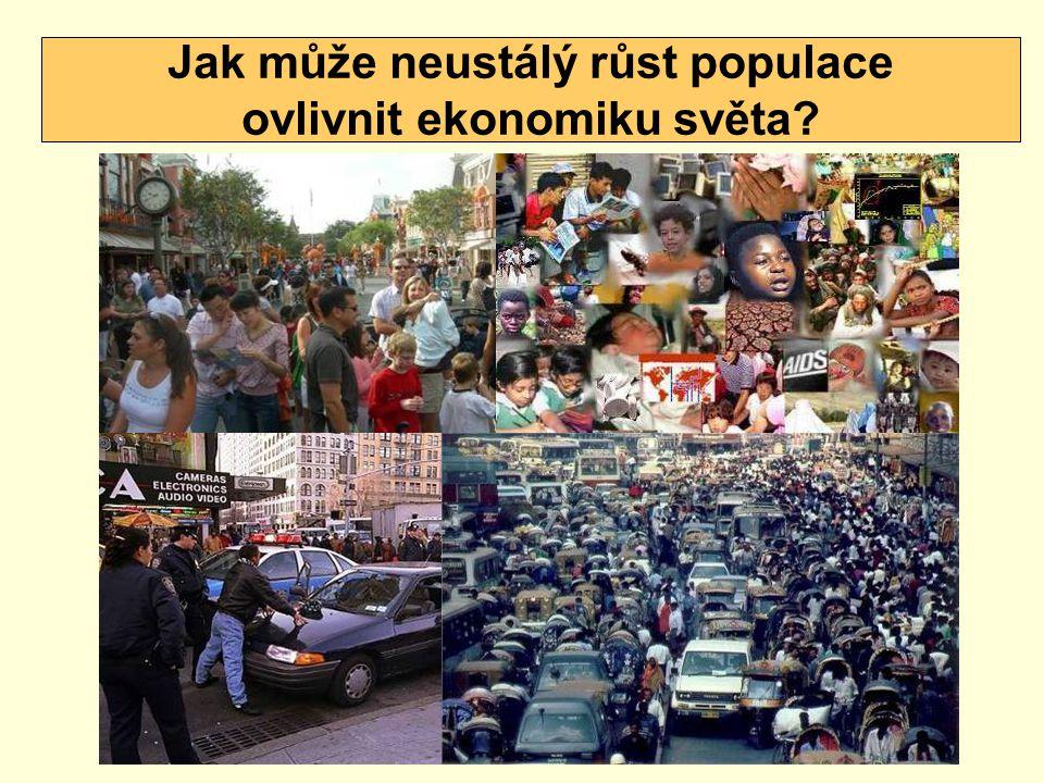 Jak může neustálý růst populace ovlivnit ekonomiku světa?