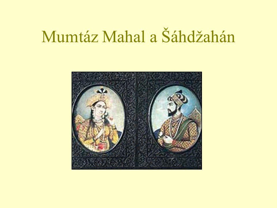 Mumtáz Mahal a Šáhdžahán