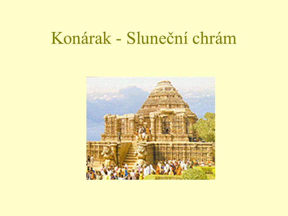 Konárak - Sluneční chrám