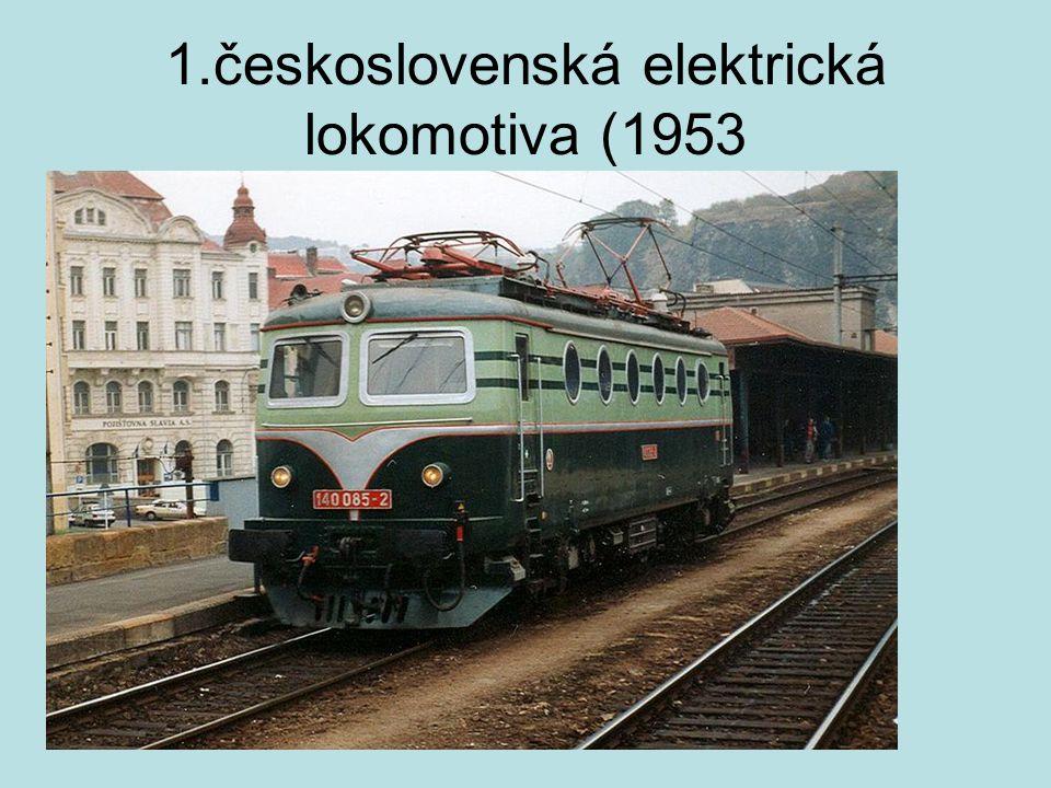 1.československá elektrická lokomotiva (1953