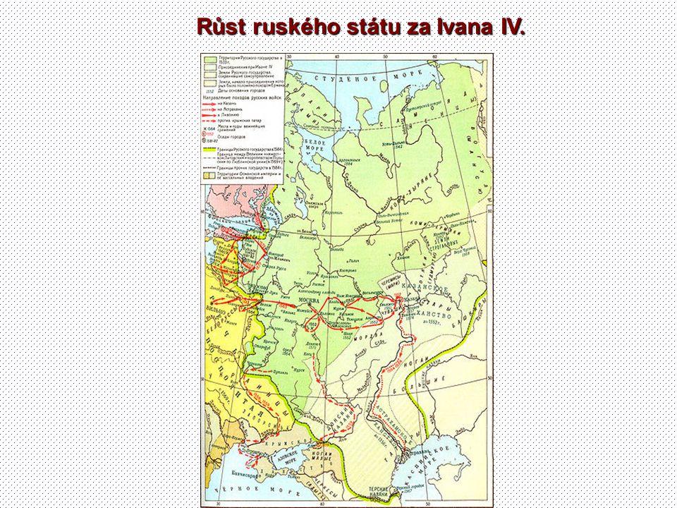 Růst ruského státu za Ivana IV.