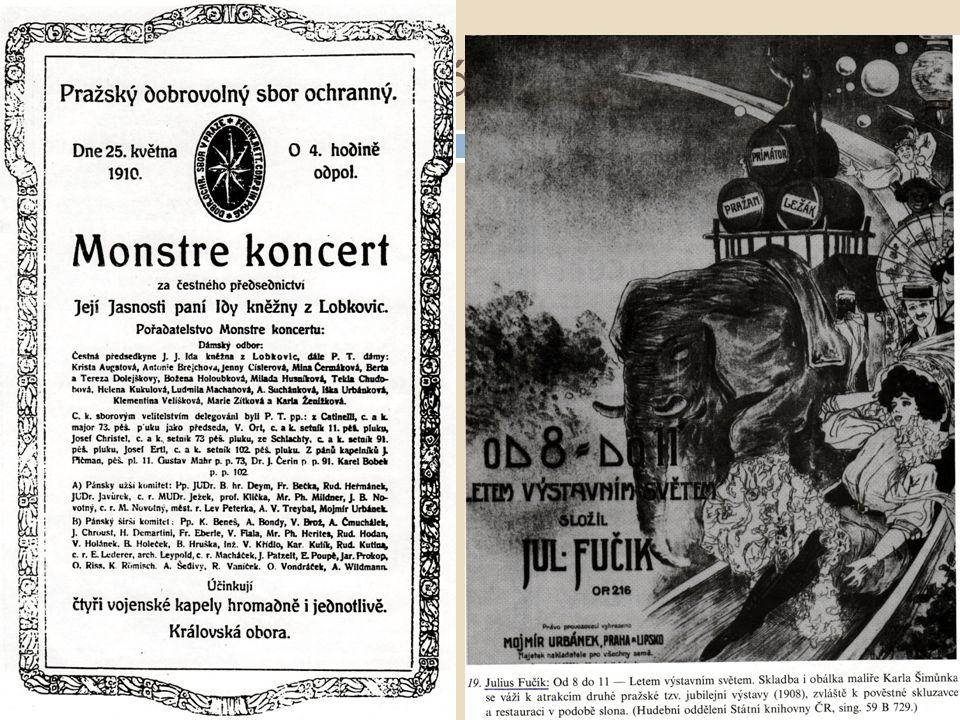Repertoár dechových orchestrů  pochody – hlavní náplň repertoáru  polky  valčíky  kvapíky  mazurky  čtverylky ad.