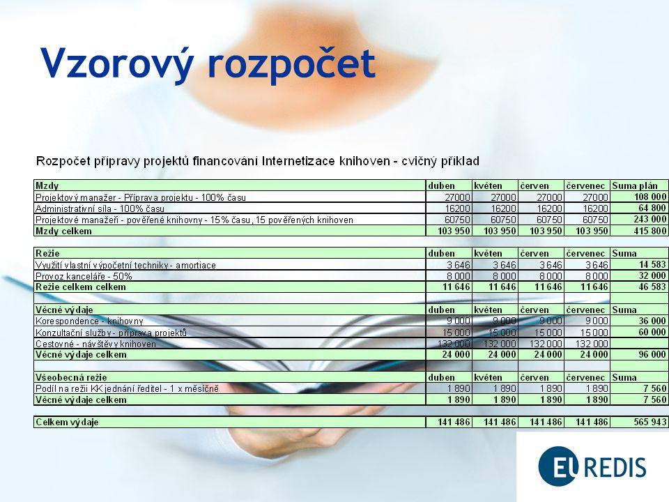 Vzorový rozpočet