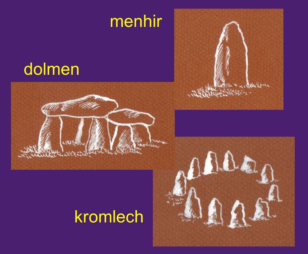 menhir dolmen kromlech
