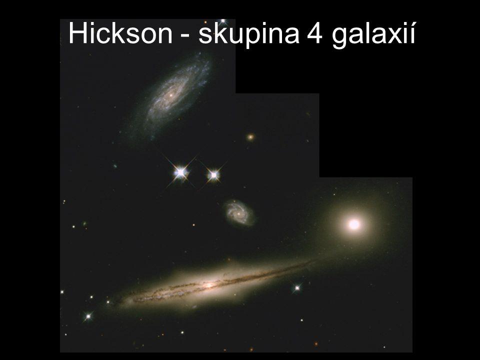 Hickson - skupina 4 galaxií