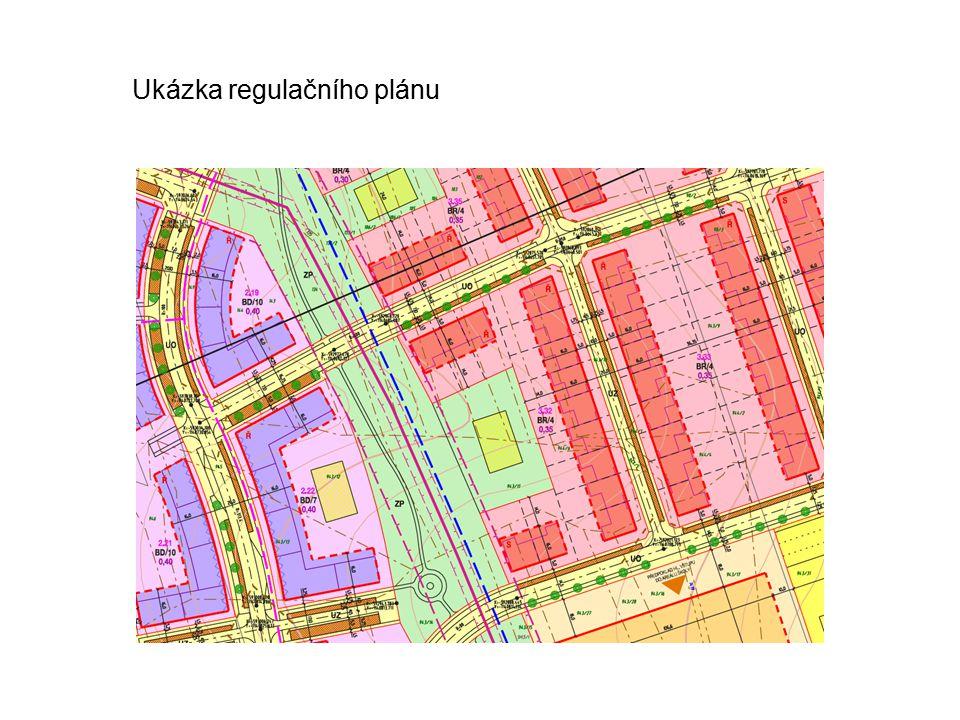 Ukázka regulačního plánu