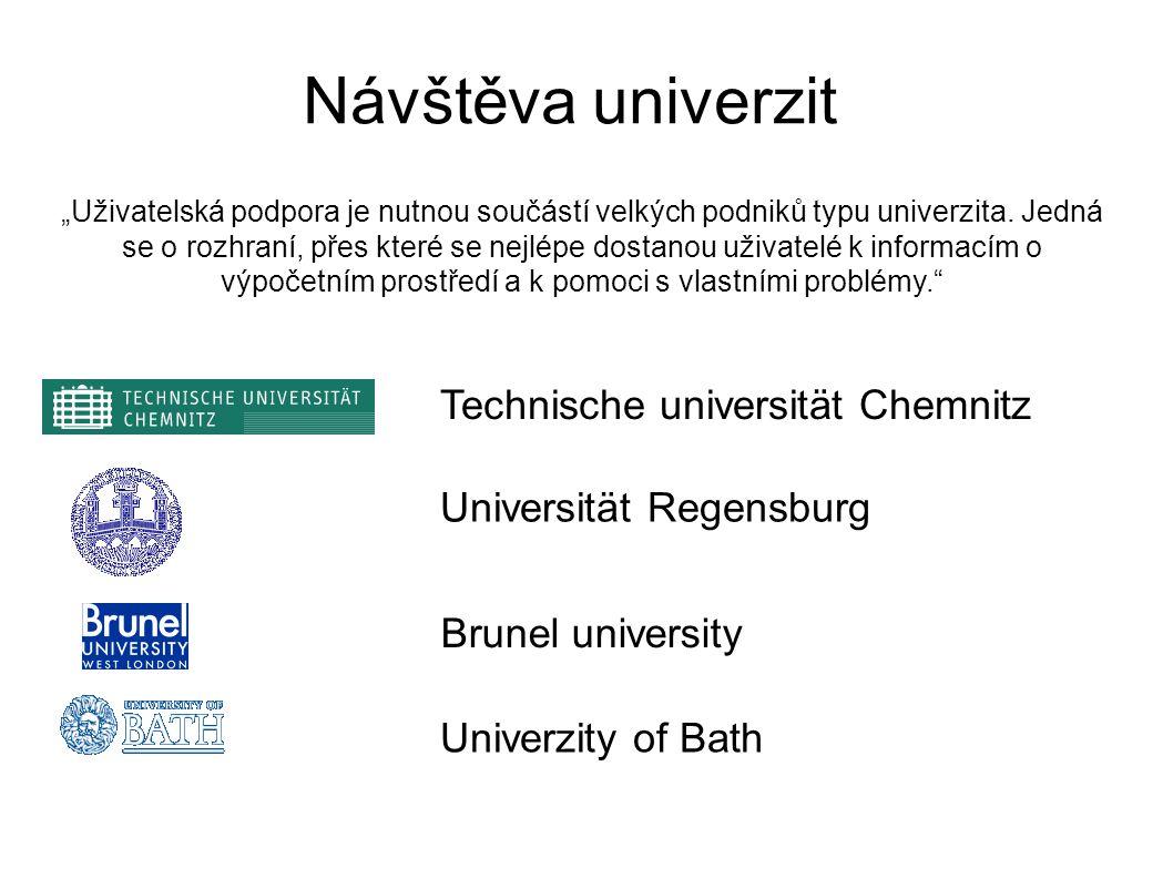 """""""Uživatelská podpora je nutnou součástí velkých podniků typu univerzita."""