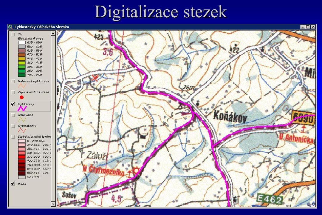 Digitalizace stezek