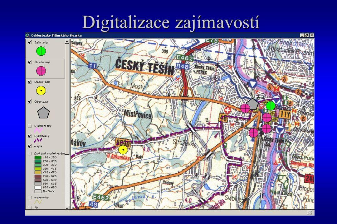 Digitalizace zajímavostí