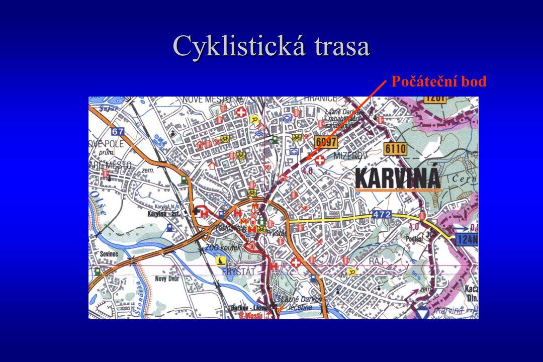 Cyklistická trasa Počáteční bod