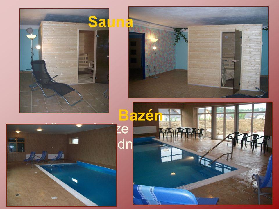 Sauna Bazén