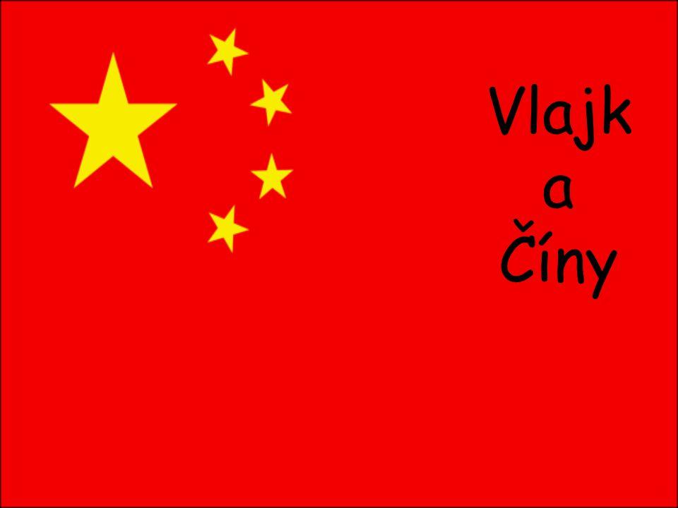 Vlajk a Číny
