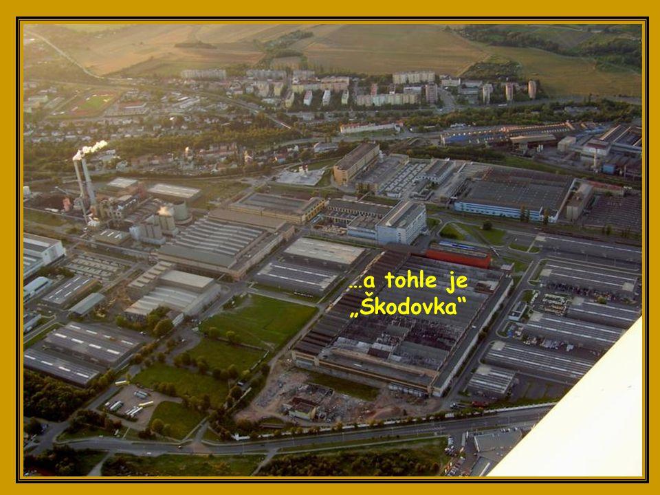 Borská pole a průmyslová zóna na bývalém Borském letišti