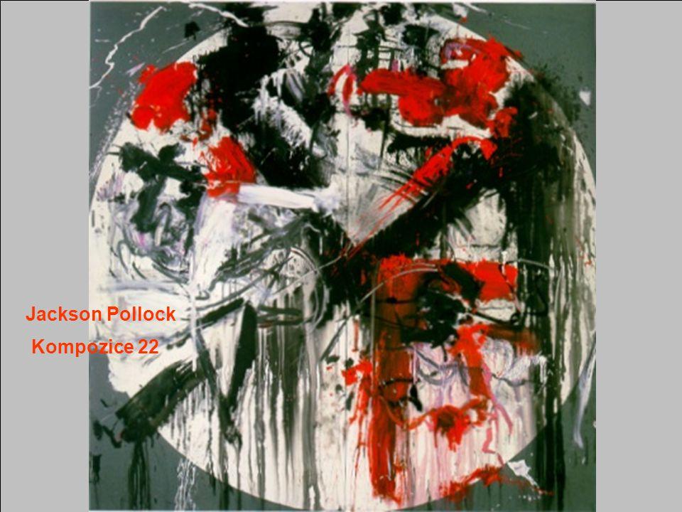 Jackson Pollock Kompozice 22