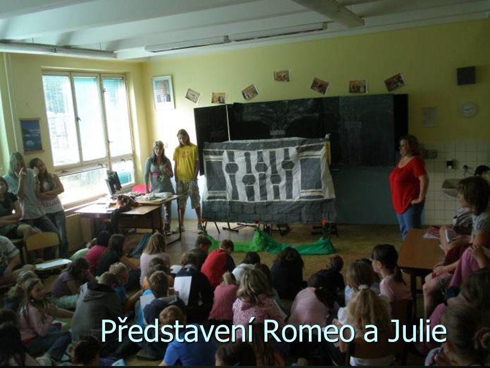Představení Romeo a Julie
