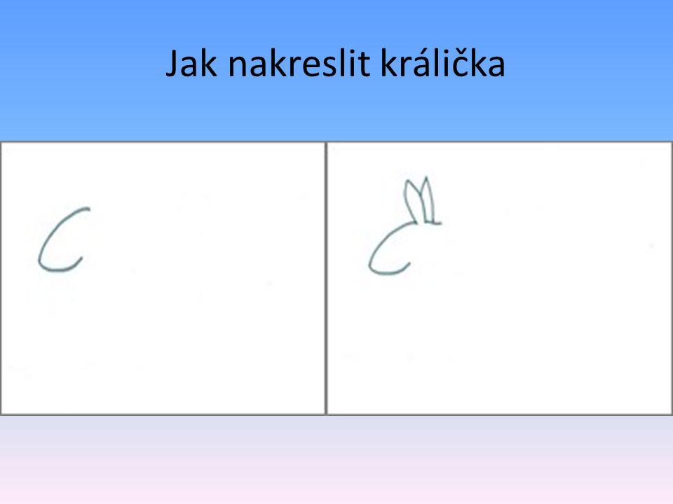 Jak nakreslit králička