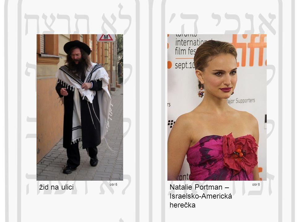 obr 5 obr 6 Natalie Portman – Israelsko-Americká herečka žid na ulici