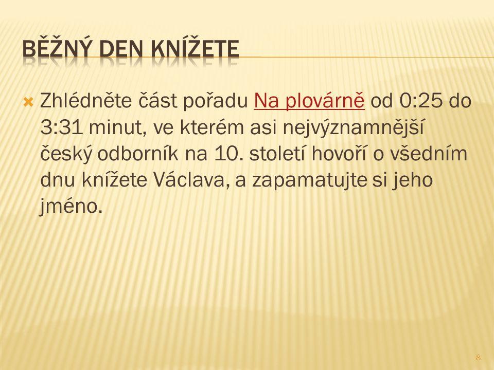  Zhlédněte část pořadu Na plovárně od 0:25 do 3:31 minut, ve kterém asi nejvýznamnější český odborník na 10.