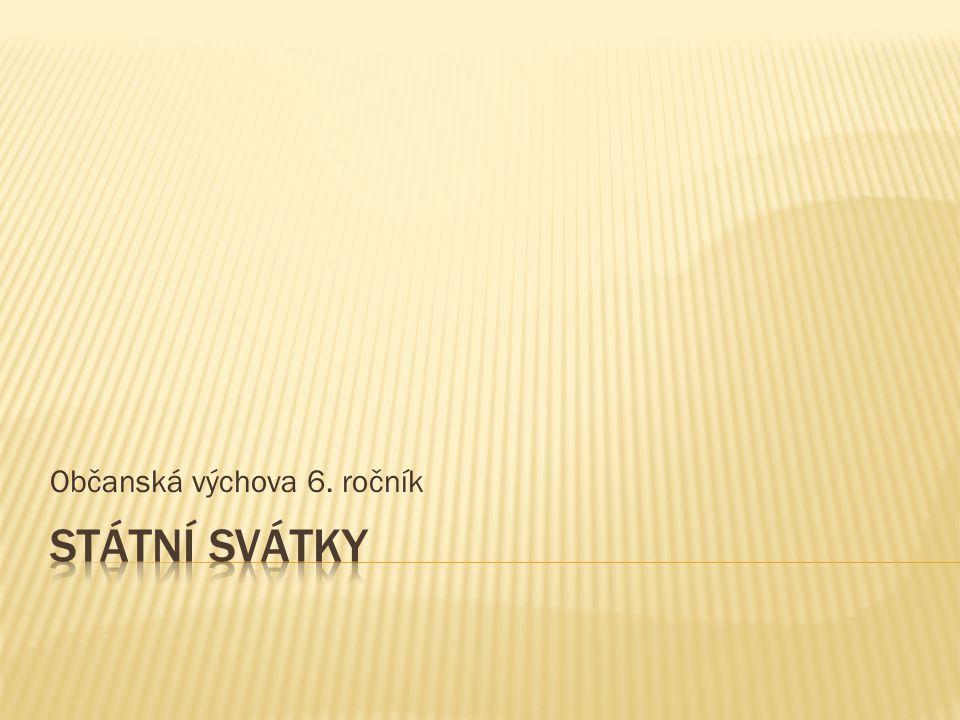 Občanská výchova 6. ročník
