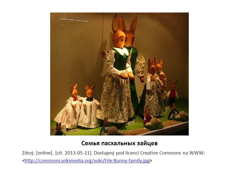 Семья пасхальных зайцев Zdroj: [online]. [cit. 2013-05-11].