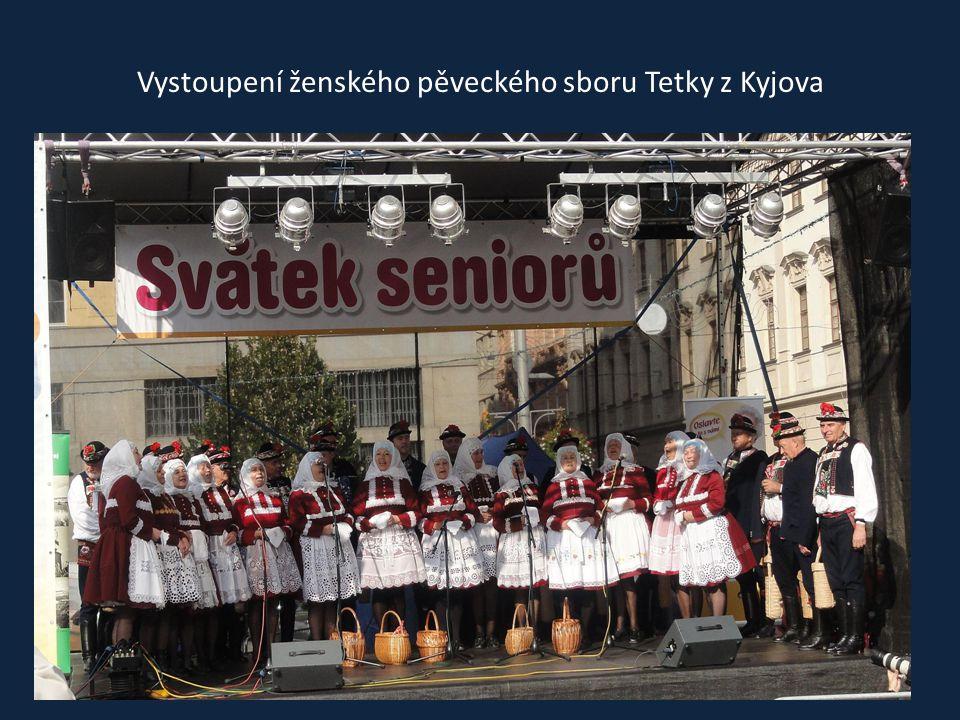 Vystoupení mužského pěveckého sboru Chlapi z Kyjova