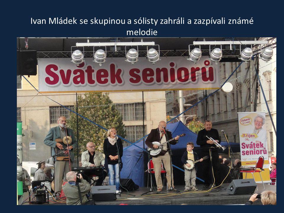 Vystoupení Ivana Mládka se svou kapelou Banjo Band