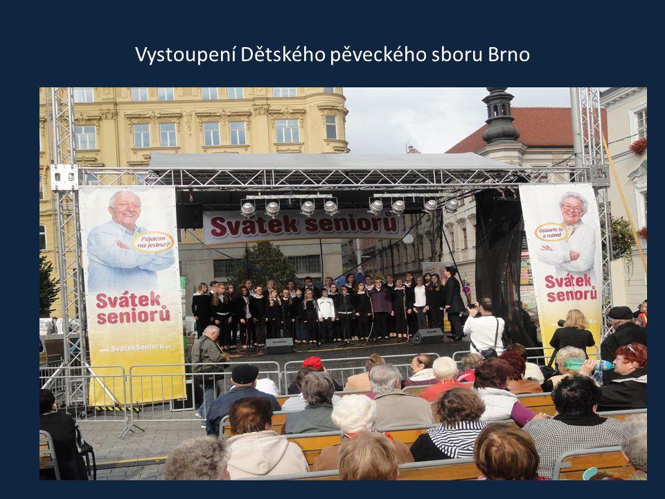 Program moderovali Marie Tomsová a Zbyněk Loucký
