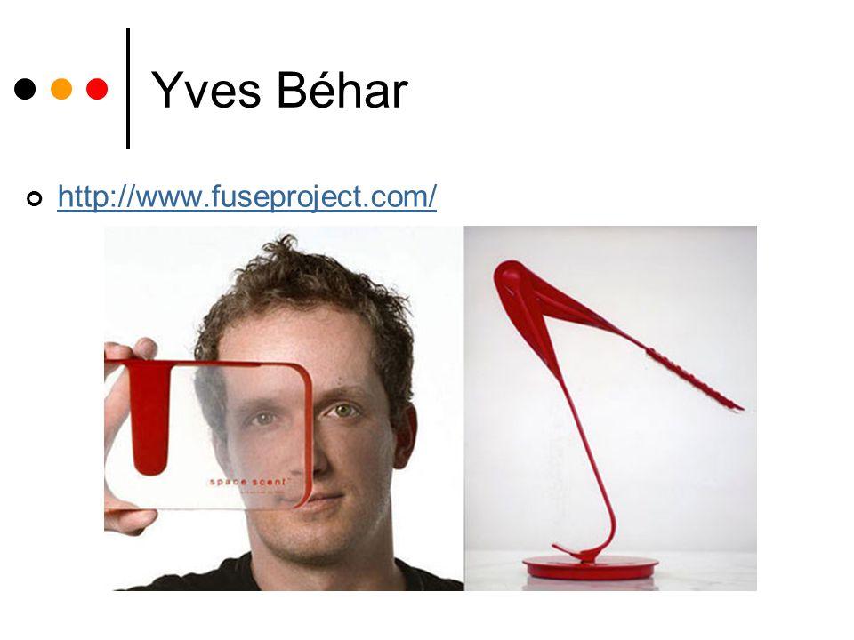 Yves Béhar http://www.fuseproject.com/
