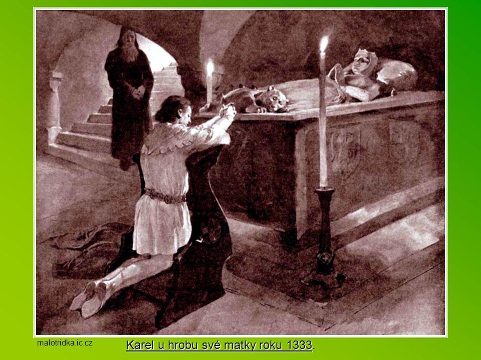 Velmi brzy se učil Karel vládnout. Už jako 13-letý odjel s družinou rytířů do Itálie, aby tu spravoval města, která mu otec svěřil. Do Čech se vrátil