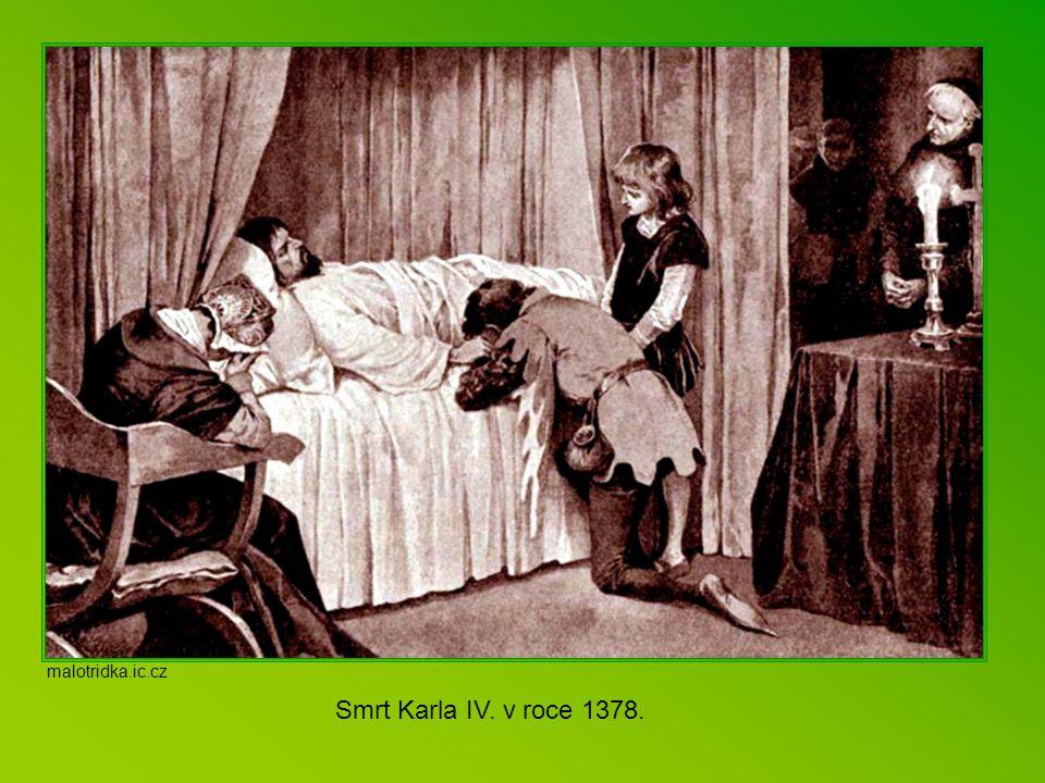 Karlova literární díla Kromě množství státních listin a zákoníků, které Karel sepsal, byl autorem i vlastního latinského životopisu Vita Caroli, v něm