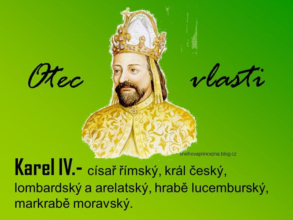 """R oku 1310 usedl na český trůn Jan Lucemburský, který se oženil s Eliškou Přemyslovnou, dcerou krále Václava II. Jan býval často označován jako """"král"""