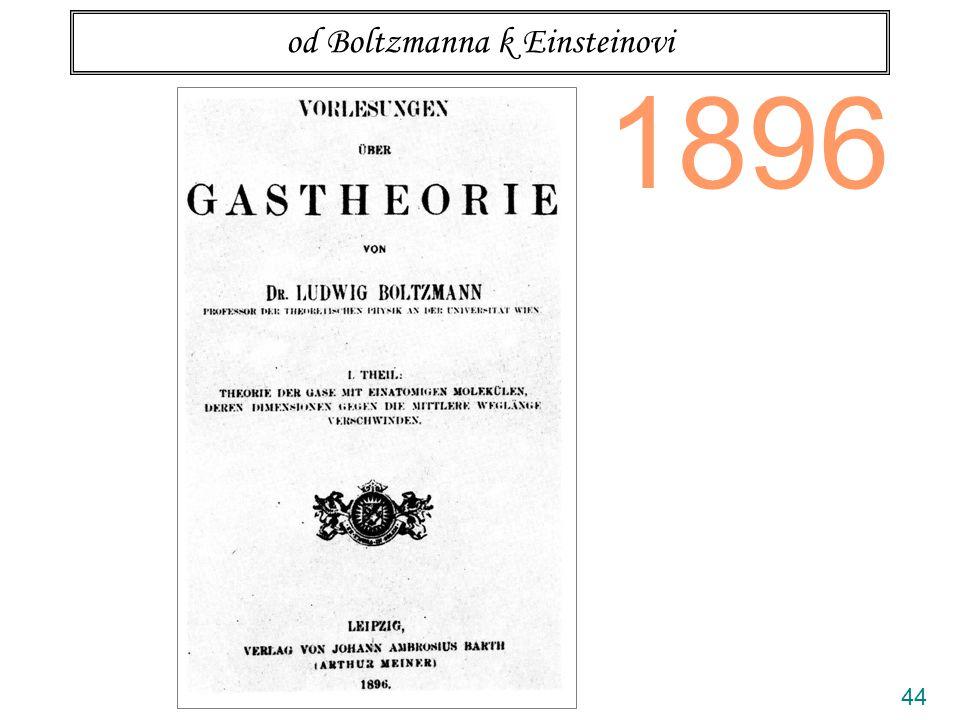 44 od Boltzmanna k Einsteinovi 1896