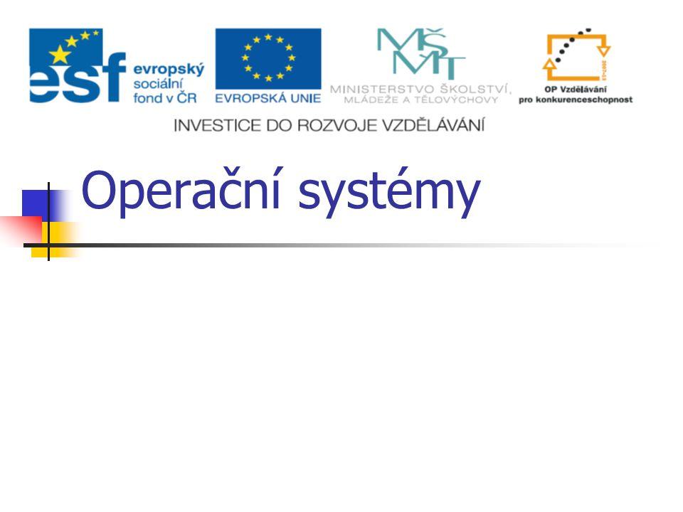 Operační systémy