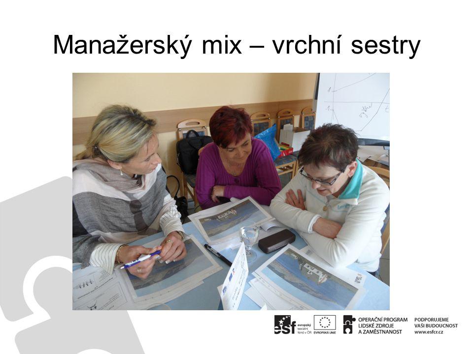 Manažerský mix – vrchní sestry