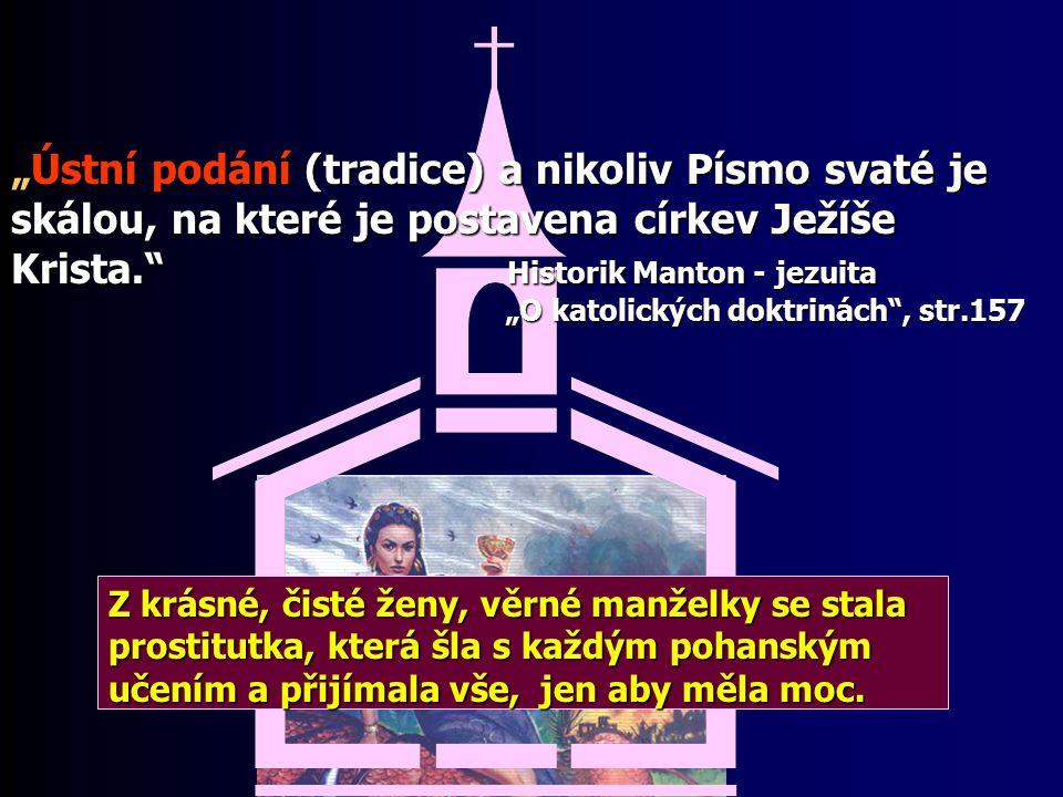 Která je ta pravá církev? Která je ta pravá církev? Pět klíčů k rozpoznání pravdy 1. Učení stojí na základech Bible 2. Zachovává přikázání Boží 3. Věr