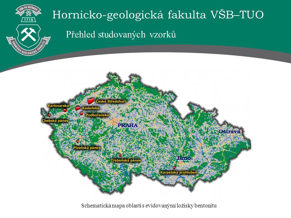 Hornicko-geologická fakulta VŠB–TUO Výzkumem byla prokázána možnost modifikovat jílové sedimenty z českých ložisek a takto upravené materiály využívat k sorpci těžkých kovů z průmyslových odpadních vod.