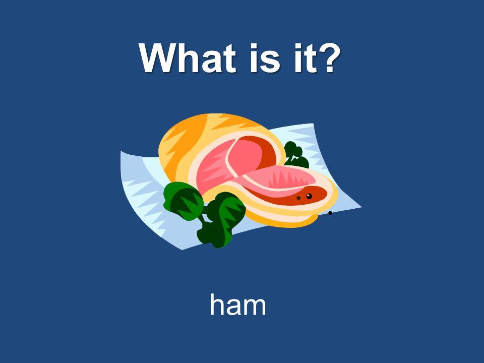 What is it? bread