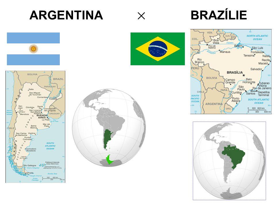 ARGENTINA × BRAZÍLIE
