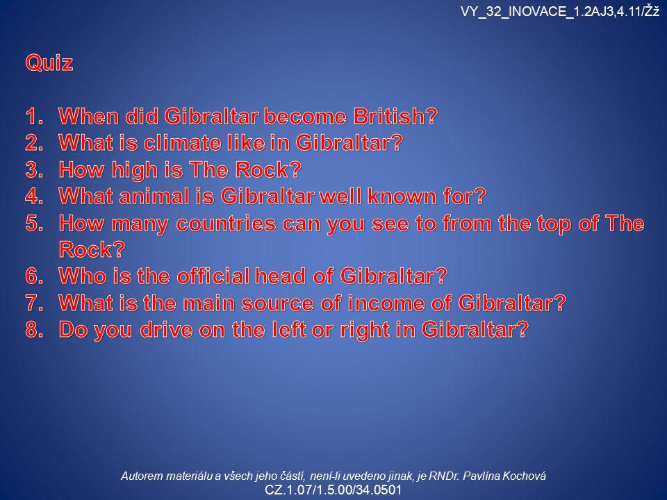VY_32_INOVACE_1.2AJ3,4.11/Žž Autorem materiálu a všech jeho částí, není-li uvedeno jinak, je RNDr.