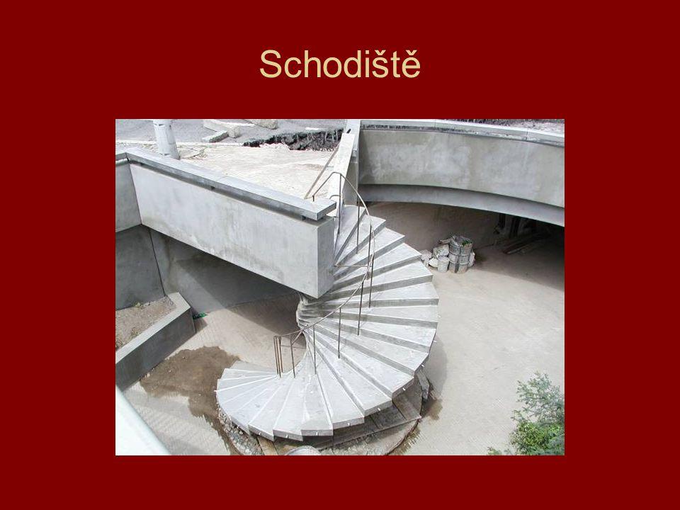 Schodiště-Praha 8,ulice V Holešovičkách