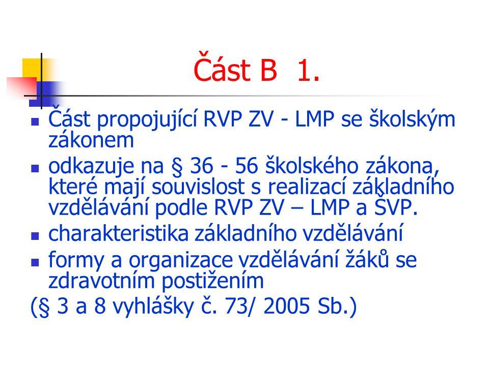 Část B 1.