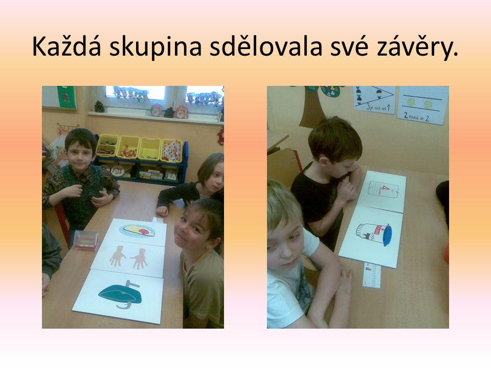 Pilně jsme naslouchali a poté tvořili obrázky ze zeleniny a ovoce.