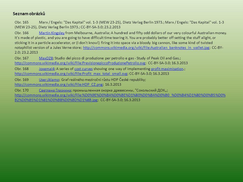 Seznam obrázků Obr.165Marx / Engels: Das Kapital vol.