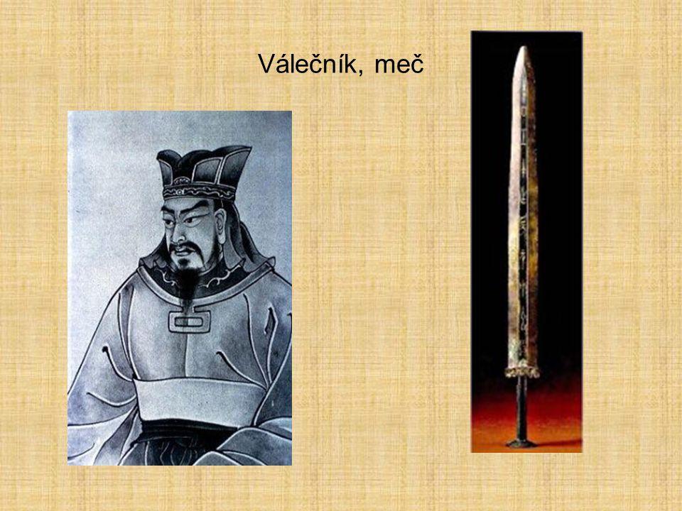 Válečník, meč